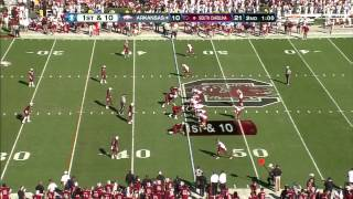 DJ Swearinger vs  Arkansas  (2012)