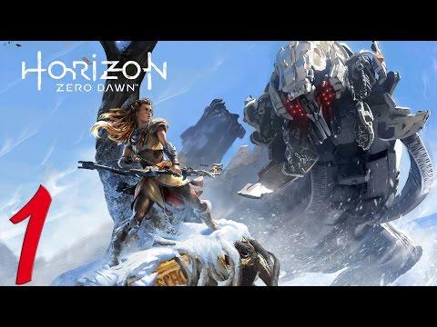 Horizon Zero Dawn. Прохождение. Часть 1 (Начало)