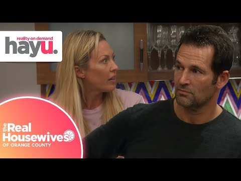 Braunwyn Says She Loves Both Her Girlfriend and Husband | S 15 | Real Housewives of Orange County