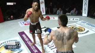 Video BCMMA 18: Joe Harding brutally knocked out while showboating vs Johan Sega MP3, 3GP, MP4, WEBM, AVI, FLV Desember 2018