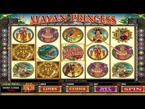 FREE Mayan Princess Video Slot ™ slot machine game preview by Slotozilla.com