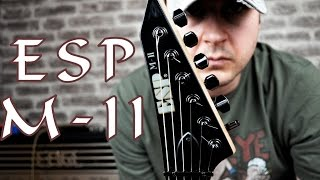 "Signal chain: ESP M-II, Steinberg UR44 interface, Amplitube, Engl Blackmore sim with impulses.Drums made with EZ Drummer 2.Guitar details:Neck-Thru-Body Construction25.5"" ScaleAlder BodyMaple NeckRosewood Fingerboard42mm Locking Nut (43mm Neck Width)Extra Thin U Neck Contour24 XJ FretsBlack Nickel HardwareGotoh TunersFloyd Rose Original BridgeEMG 81 (B & N) Active p.u.Finish: BLK (Black)Year 2009"