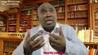 Maurille LOUZALA s'exprime sur la crise post-électorale au Congo