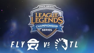 Video FLY vs. TL - Week 3 Day 1 | NA LCS Spring Split | FlyQuest vs. Team Liquid (2018) MP3, 3GP, MP4, WEBM, AVI, FLV Juni 2018