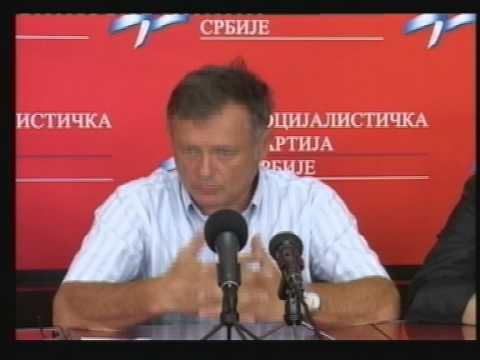 Конференција за новинаре СПС-а Чачак