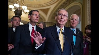 Majority Leader Mitch McConnell said Tuesday that the Senate would postpone its August recess by two weeks. The postponement comes as Republicans in the Senate are working on their bill that would repeal and replace the 2010 health care law. See the video for McConnell's announcement, as well as Minority Leader Charles E. Schumer's response.Website: http://www.rollcall.comFollow us: http://www.twitter.com/RollCallLike us: http://www.facebook.com/RollCallDCGoogle+: http://www.google.com/+RollCallTumblr: http://photos.rollcall.com
