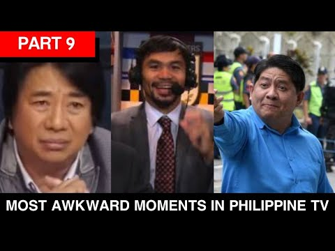 Part 9: Most Awkward Moments in Philippine TV