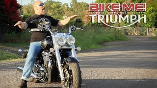 6. Triumph Thunderbird Commander Review - BIKE ME!