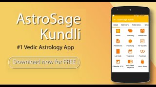 AstroSage Kundli : Astrology YouTube video