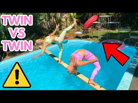 INSANE ACRO GYMNASTICS OBSTACLE COURSE (REMATCH)