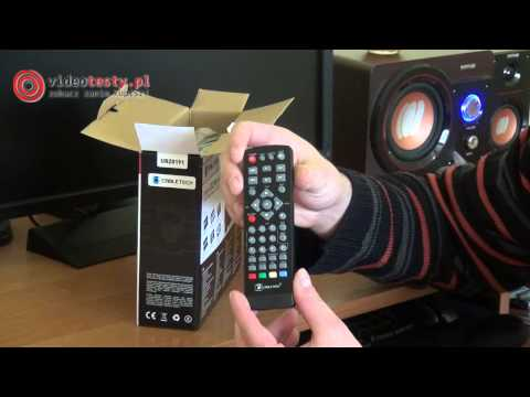 Cabletech tuner cyfrowy DVB-T URZ0191 [UNBOXING]