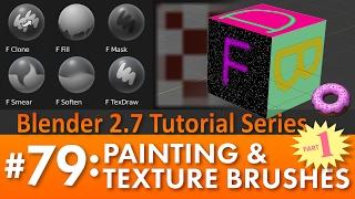esse são dois videos de pintura no blender vejam são mais que você espera de um programa gatis manti