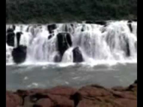 Salto doYucumã - Parque Estadual do turvo em Derrubadas - RS
