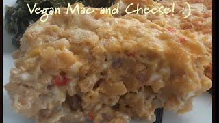 Baked Vegan Mac and Cheese-- BEST recipe!