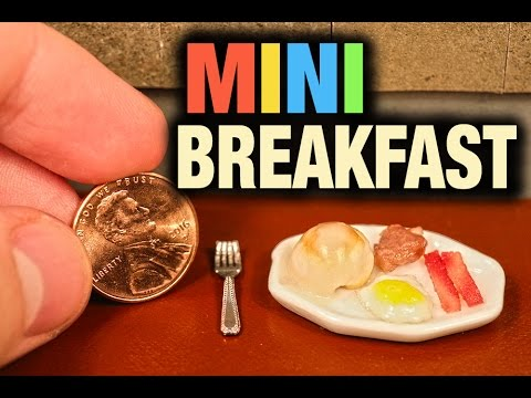 Would You Eat the World's Smallest Breakfast?