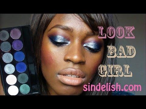 Maquillage du soir, festif: ideal pour les peaux noires