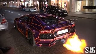 Video The Return of Tron - Flaming Aventador MP3, 3GP, MP4, WEBM, AVI, FLV Juni 2017