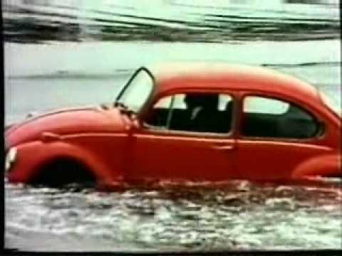 how long does a vw beetle float? Just watch!