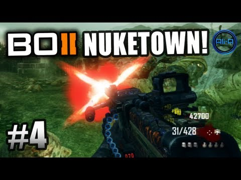 BLACK OPS 2 Nuketown Zombies! Ali-A LIVE Part 4! - Call of Duty: BO2 Nuketown Zombies Gameplay