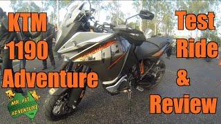 9. 2015 KTM 1190 Adventure Bike Review & Test Ride