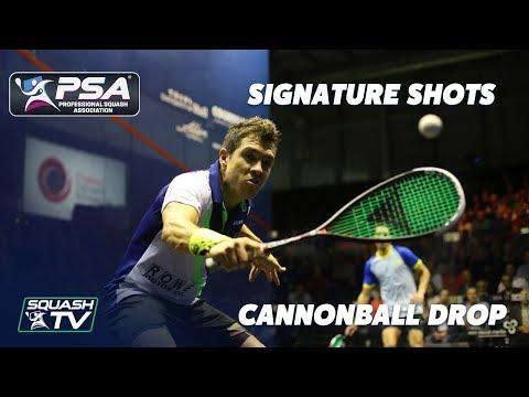Squash: Signature Shots - Miguel Rodriguez - Cannonball Drop