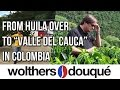 From Huila over to Valle del Cauca in Colombia