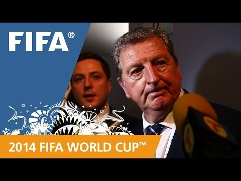 final - England coach Roy Hodgson speaks about his team's draw for the 2014 FIFA World Cup™. More videos about the 2014 FIFA World Cup™ Final Draw: http://www.youtub...