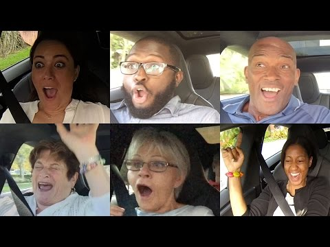 Tesla P85D Insane Mode Launch Reactions