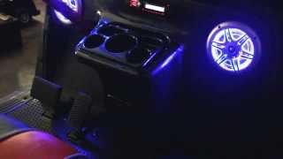 2. 2010 EZGO RXV 48V GOLF CART ELITE DASH Carbon Fiber