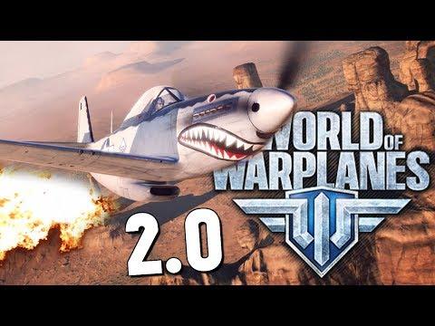 World of Warplanes - КРУТО! ОБЗОР ОТ БРЕЙНА (видео)