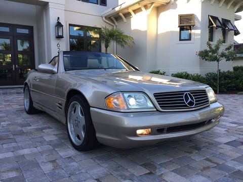 2001 Mercedes-Benz SL600 Roadster for sale by Auto Europa Naples
