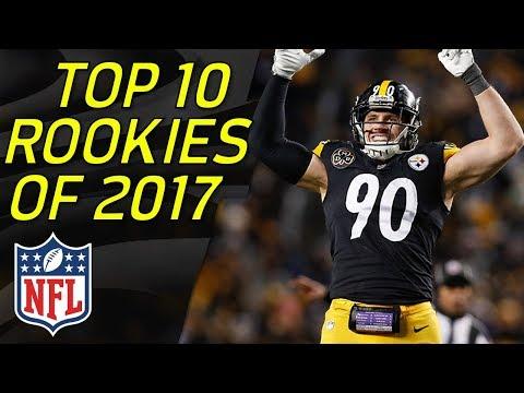 Top 10 NFL Rookies of the 2017 Season | NFL Highlights