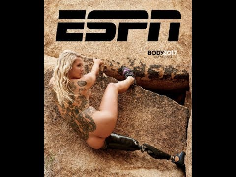 ESPN The Mag Body Issue with Kirstie Ennis