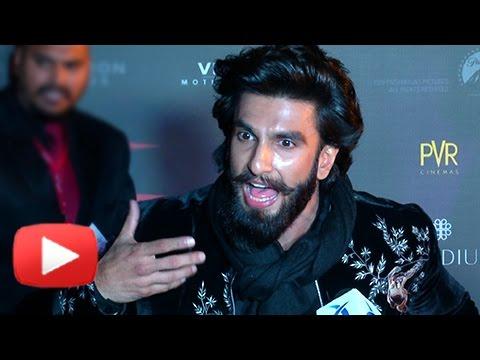 Ranveer Singh MAKES FUN Of A Journalist XXx Return Of Xander Cage India Premiere