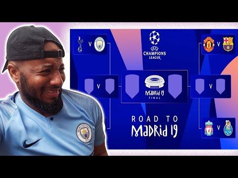 UEFA Champions League Quarter-finals & Semi-finals Draw Reaction