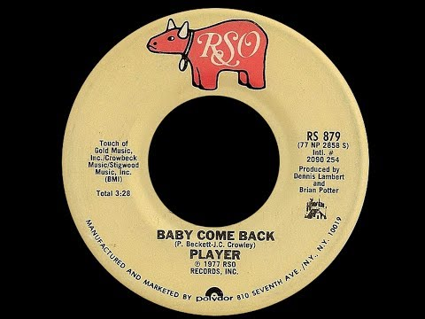 Player ~ Baby Come Back 1977 Soul Purrfection Version