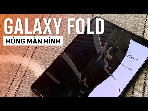 Galaxy Fold 40 triệu sau 2 ngày hỏng màn hình - Thời lượng: 7:11.