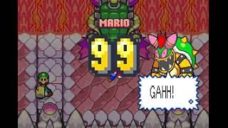 Mario & Luigi Superstar Saga ~ 5000 damage glitch (English ver...