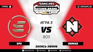 EPG vs Nemiga (карта 3), MC Autumn Brawl, Групповой этап
