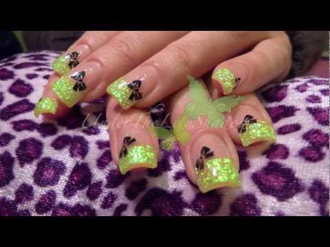 nail art - french fluo