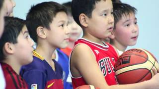 «Astana» team visits third-graders