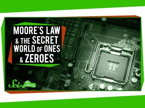 moore - SciShow explains how SciShow exists -- and everything else that's ever been made or used on a computer -- by exploring how transistors work together in circu...