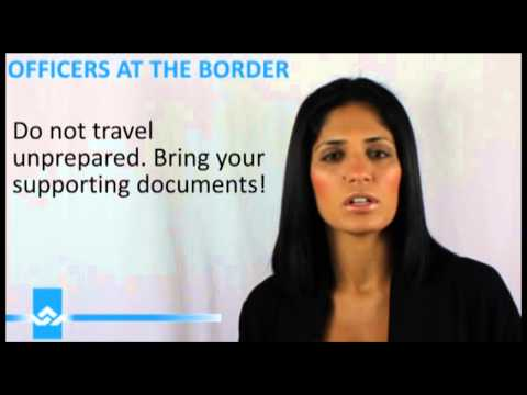 Denied entry to Canada by Officers at the Border Video