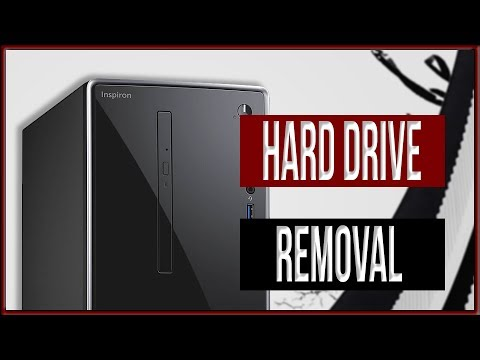 How to remove the Hard Drive from the Dell i3668