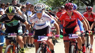 Schweizer MTB XCO-Meisterschaften in Montsevelier. 1.Jolanda Neff 2. Linda Indergand 3. Corina Gantenbein Music by...