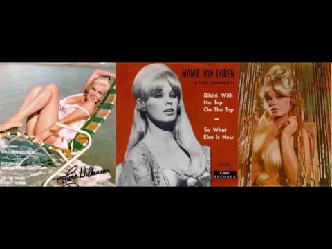 Mamie Van Doren - Bikini With No Top On Top & So What Else Is New
