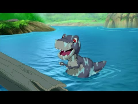 Balancing on the River | The Land Before Time | Cartoons for Children