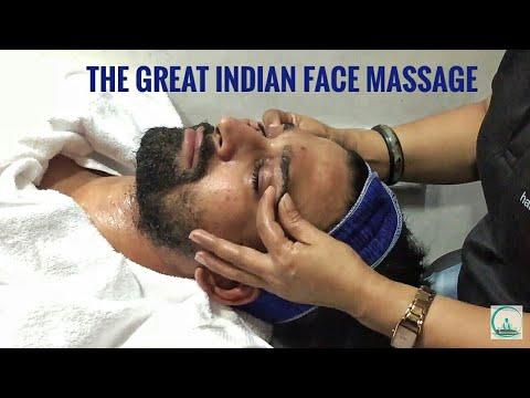 The Great Indian Head, Face and Nose Massage | ASMR | Puremassageworld
