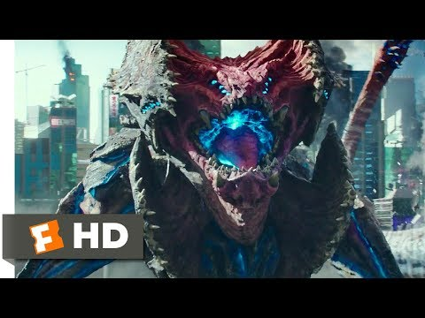 Pacific Rim Uprising (2018) - Giant Monsters Attack Japan Scene (7/10) | Movieclips