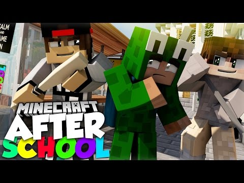 Minecraft After School - LITTLE LIZARD GETS STOOD UP ON HIS DATE WITH SARAH!? (видео)